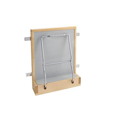 10 1/2 in (267 mm) - Vanity Door Mount Scale Holder - Maple