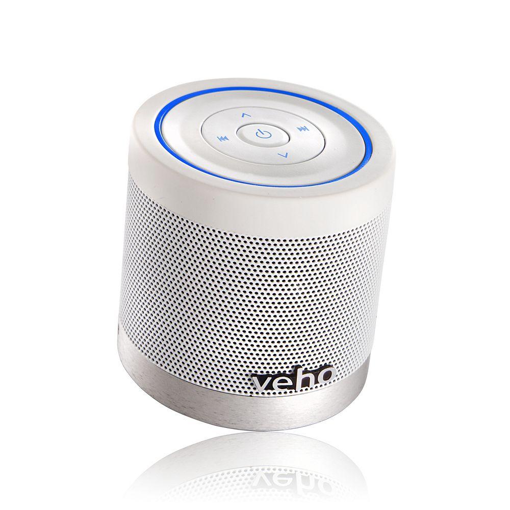 Veho M4 360 Degree Wireless Bluetooth Speaker in White