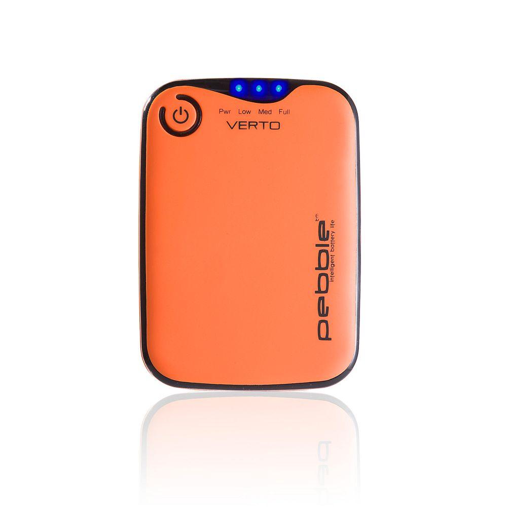 Veho Chargeur de batterie portable Pebble (TM) Verto 3700mAh - Orange