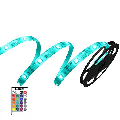 Aura LED 12ft Light Strip with remote