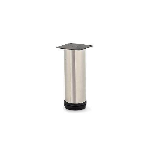 Adjustable Round Legs, 5 29/32 in (150 mm), Nickel