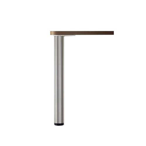 Adjustable Table Leg, 34 1/4 in (870 mm), Chrome