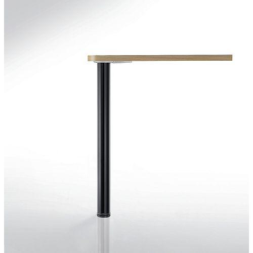 Adjustable Bar Table Leg, 43 1/4 in (1100 mm), Black