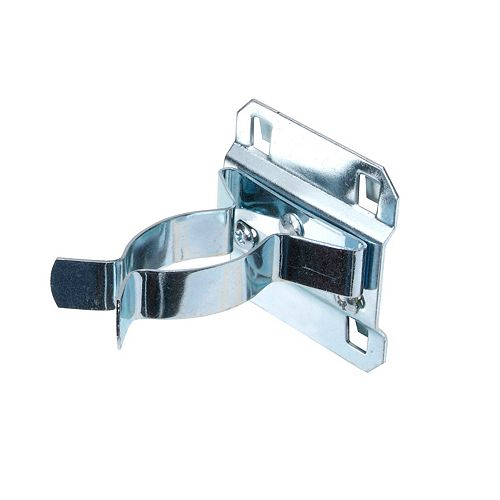 1-1/2 In. to 2-3/4 In. Hold Range Steel Extended Spring Clip for LocBoard, 5 Pack