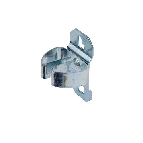 Triton 1/4 In. to 1/2 In. Hold Range 1-1/4 In. Projection Steel Standard Spring Clip for LocBoard, 5 Pack