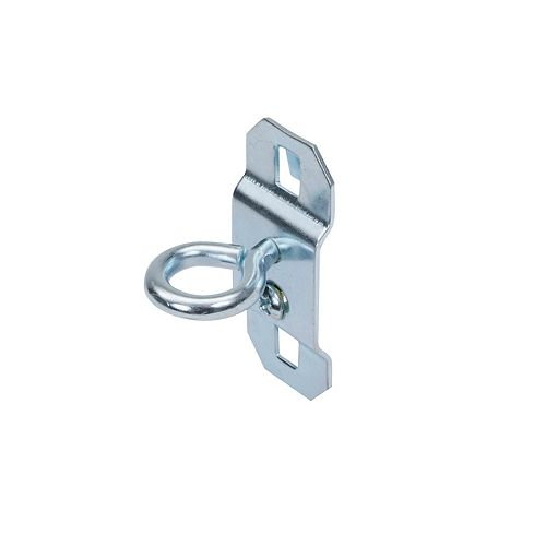 Triton 1-1/8 In. Single Ring 1/2 In. I.D. Steel Tool Holder for LocBoard, 5 Pack