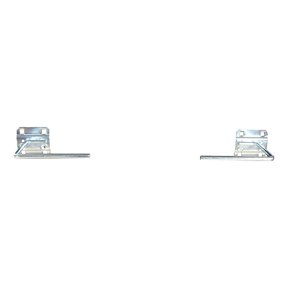 Triton 3-1/2 In. D Paper Towel Holder 1/2 In. Dia. Steel Pegboard Hook for LocBoard, 1 Pack