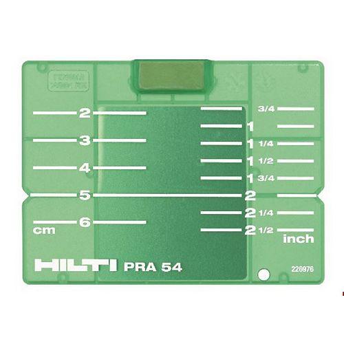 PRA 54 Imperial/Metric Target Plate, Green