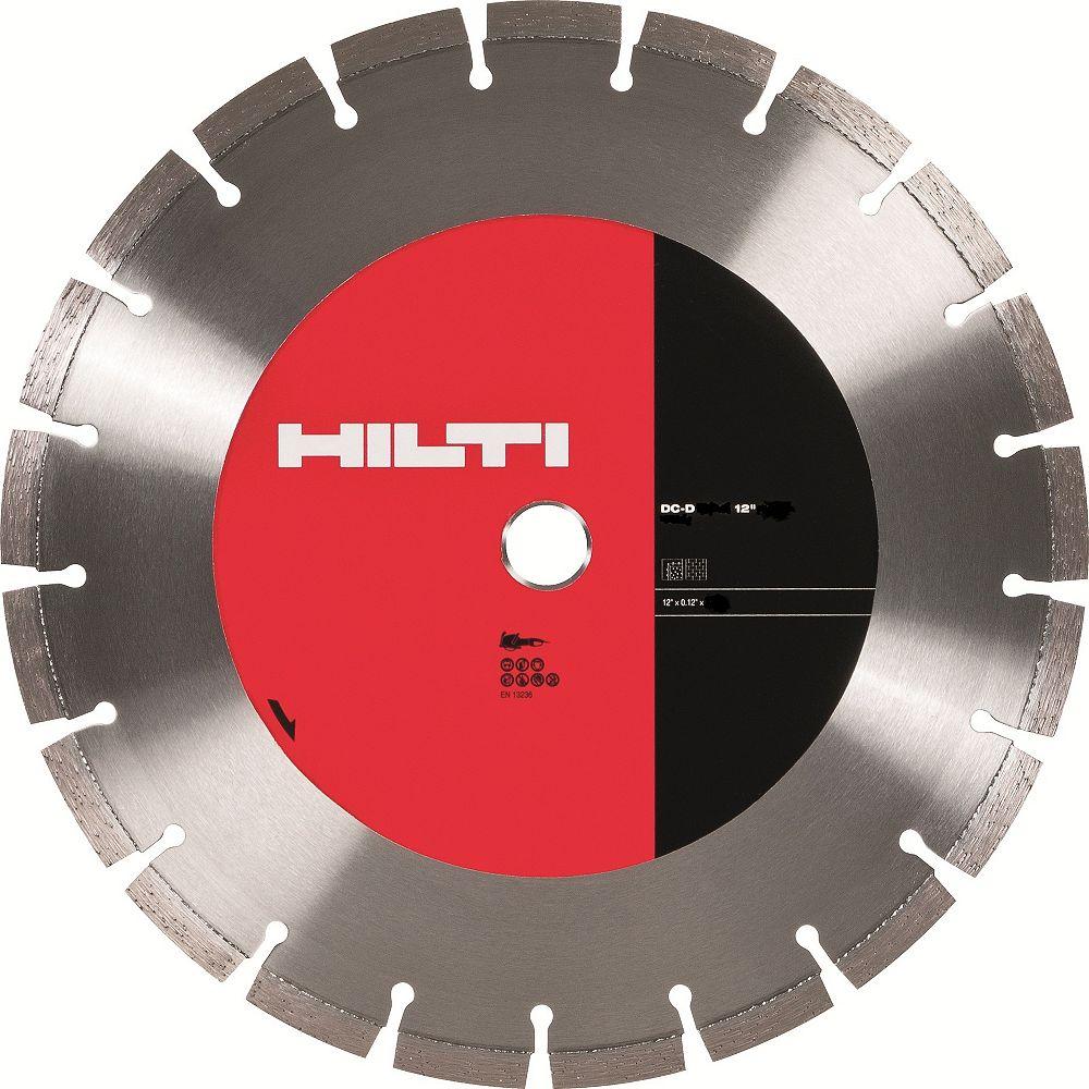 Hilti Disque de coupe universel DCH SP-S 12 po x 1 po