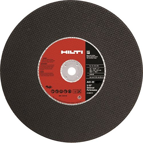 14 in. x 5/32 in. x 7/8 in. SP-1 Abrasive Metal Deck Cutting Gas Saw Blade/Disc (10-Pack)