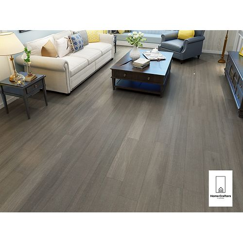 Beech Falcon Grey 3/4 x 6 1/2-inch Engineered Hardwood Flooring (26.33 sq. ft./ case)