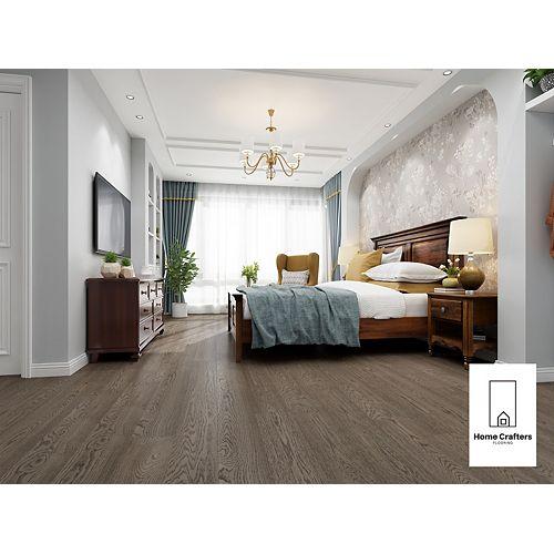 White Oak Curio 3/4 x 8 1/2-inch Engineered Hardwood Flooring (20.84 sq. ft./ case)
