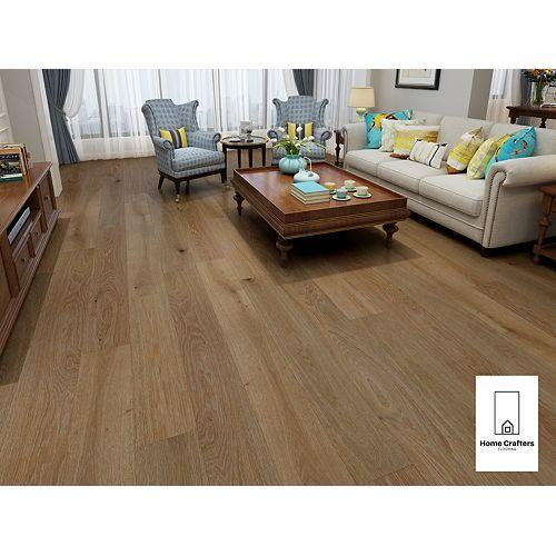 White Oak Butterscoth Amber 3/4 x 8 1/2-inch Engineered Hardwood Flooring (20.84 sq. ft./ case)