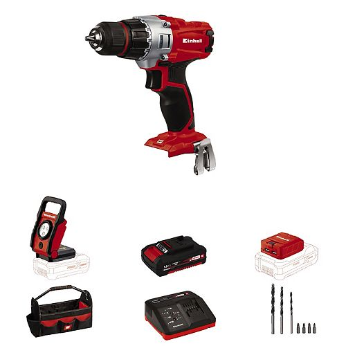 PXC 18-Volt Cordless 2-Speed, Drill / Driver Workshop Kit (w/ 1.5-Ah Battery and Fast Charger)