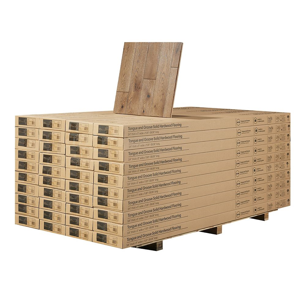 Malibu Wide Plank French Oak Point Paradise 3/4-inch Thick ...