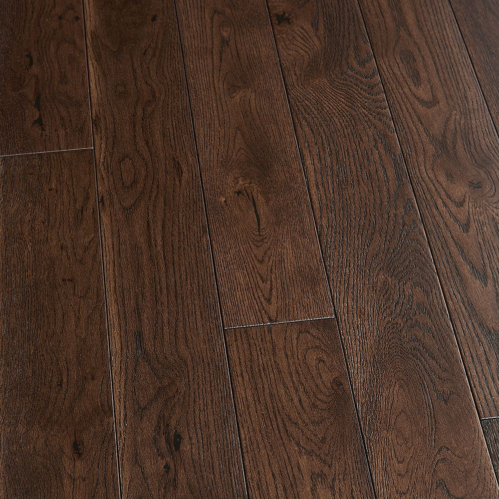 Malibu Wide Plank French Oak Pacific Grove 3/4 in. Thick x 5 in. Wide Solid Hardwood Flooring (22.60 sq. ft./case)