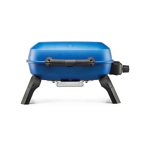 TravelQ 240 Portable Propane Gas Grill, Blue