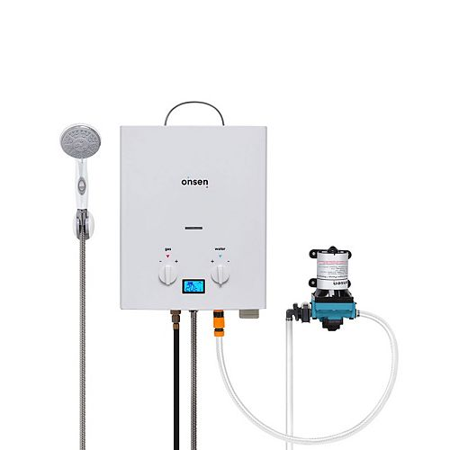 Onsen 5L Portable Tankless Water Heater w/ 3.0 Pump
