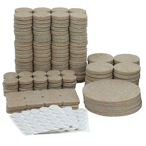 Felt Pads Value Pack Beige 303 Pc