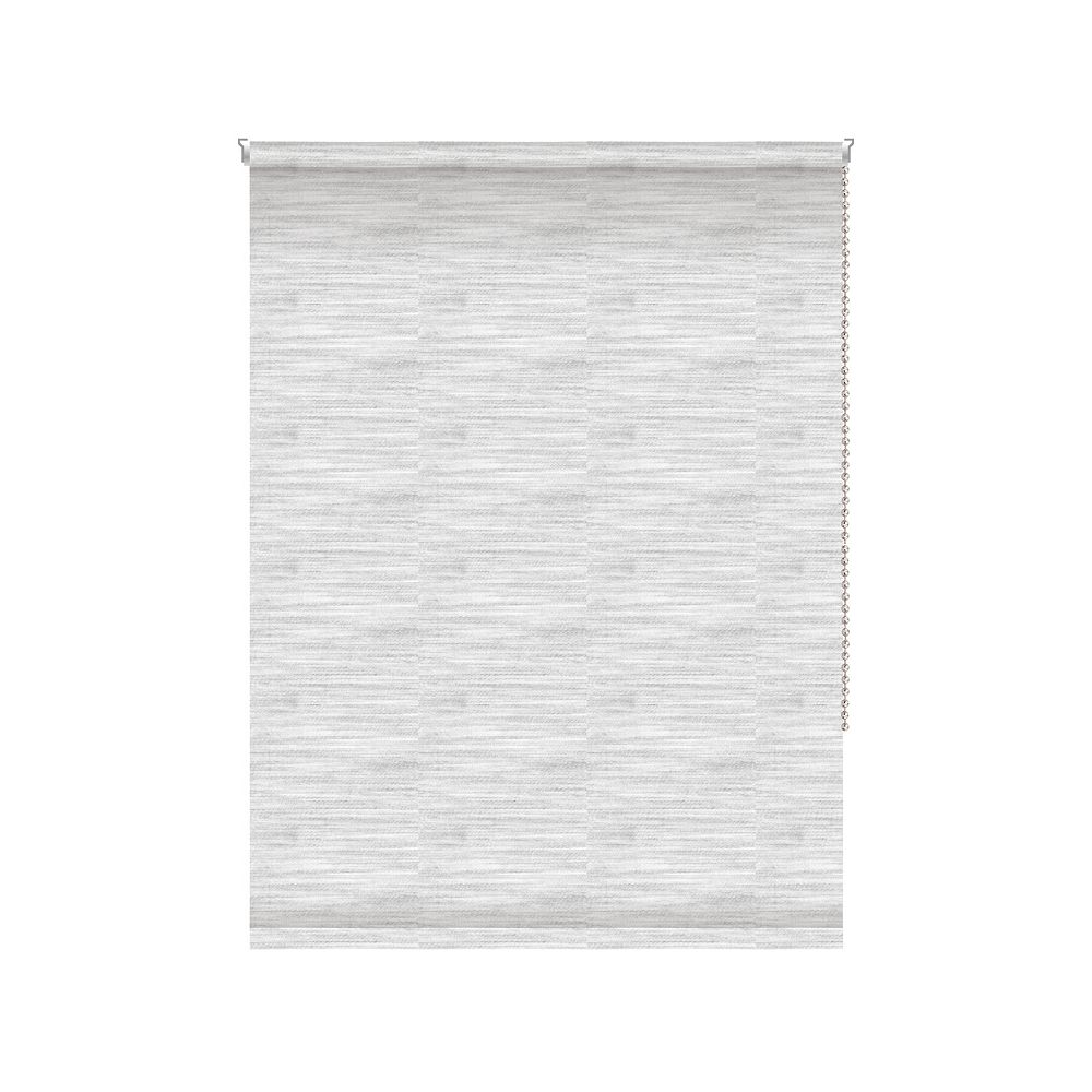 Off Cut Shades Translucent Roller Shade - Chainless with Curved Valance - 49-inch X 72-inch
