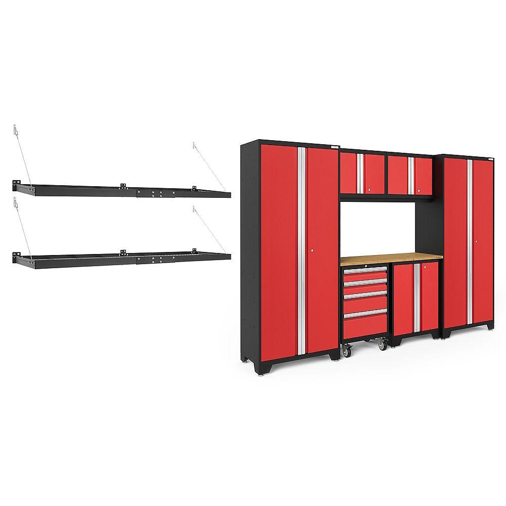 NewAge Products Inc. Série Bold Rouge - Ensemble de 9 pièces