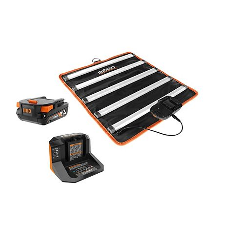 18V Mat Light Kit with 2.0 Ah Battery and Charger