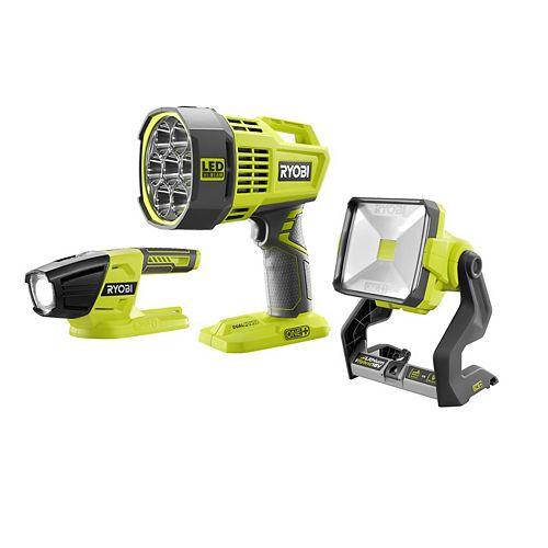 18V ONE+ 3pc Lighting Kit