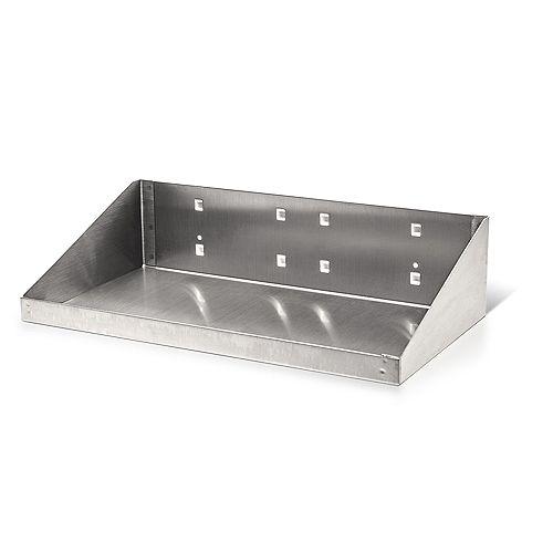 12 In. W x 6 In. D Stainless Steel Shelf