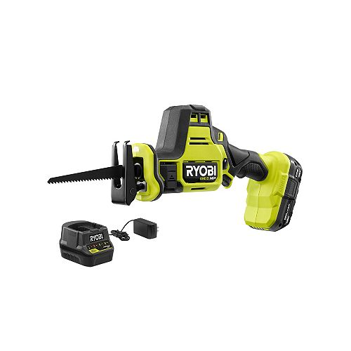 18V ONE+ HP Bruhsless Cordless Compact One-Hand Recip Saw Kit with 1.5 Ah Battery and Charger