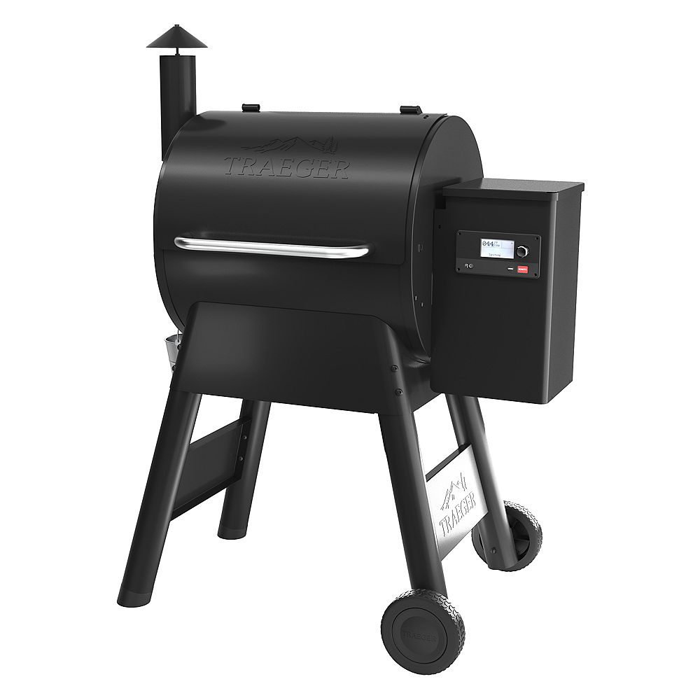 Traeger Grills Pro 575 Grill in Black with WiFIRE Technology