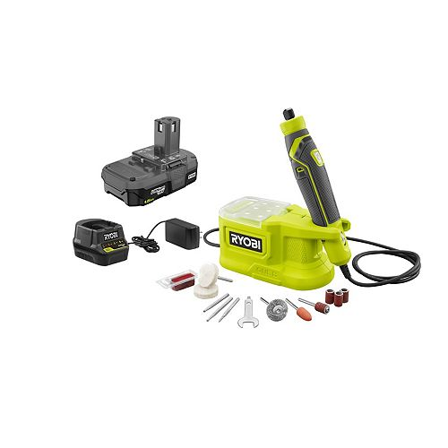 18V ONE+ Precision Rotary Tool Kit with 1.5Ah Battery, Charger and Accessories