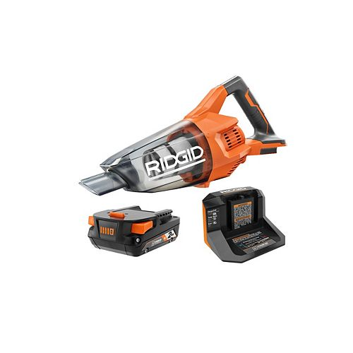 18V Cordless Compact Vacuum Kit with 2.0 Ah Battery and Charger