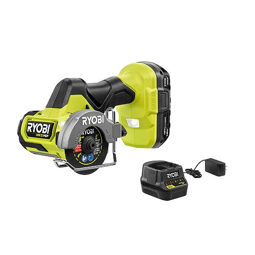18V ONE+ HP Bruhsless Cordless Compact 3-inch Cut-Off Tool Kit with 1.5Ah Battery and Charger