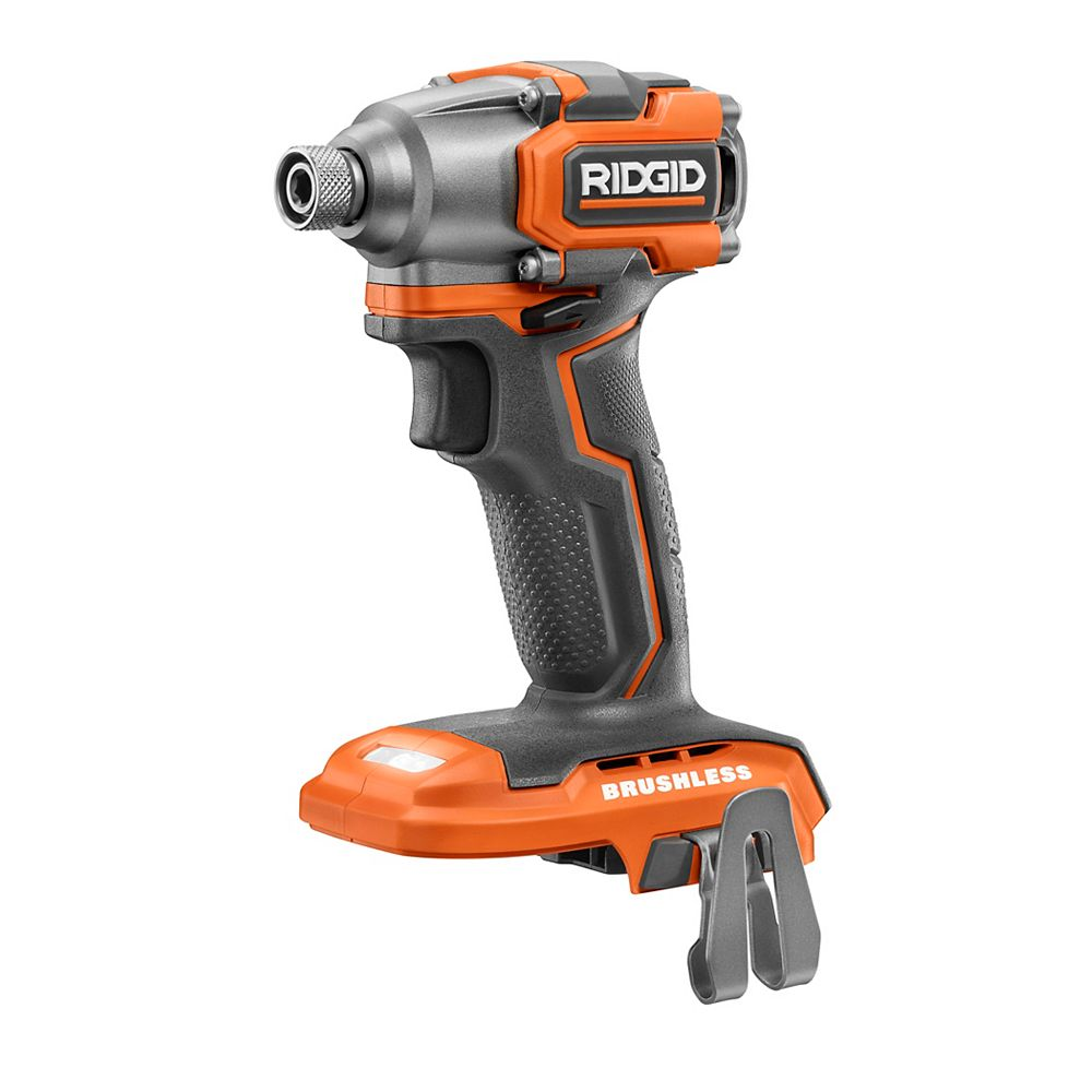 RIDGID 18V Brushless Cordless Sub-Compact 1/4-inch Impact Driver (Tool Only)