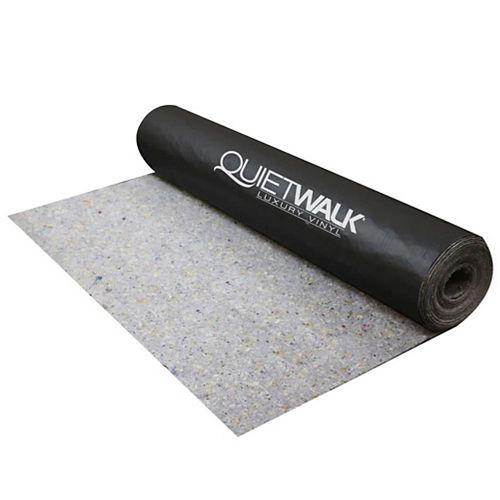 360 Sq Ft Premium Sound & Moisture Barrier Underlayment for Luxury Vinyl Plank Flooring