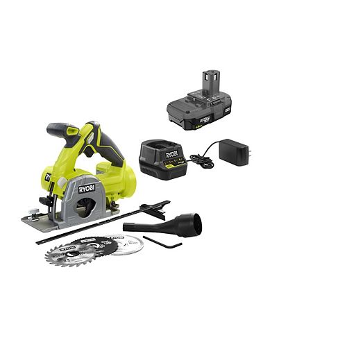18V ONE+ Cordless Multi-Material Saw Kit with 1.5 Ah Battery and Charger