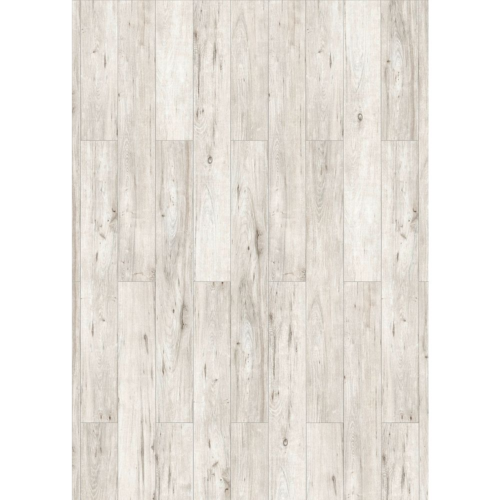 Mono Serra Alaska White 12 Mm, White Laminate Flooring Home Depot