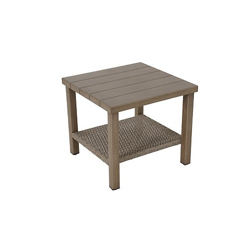 20 in. Arbor Point Outdoor Patio Accent Table