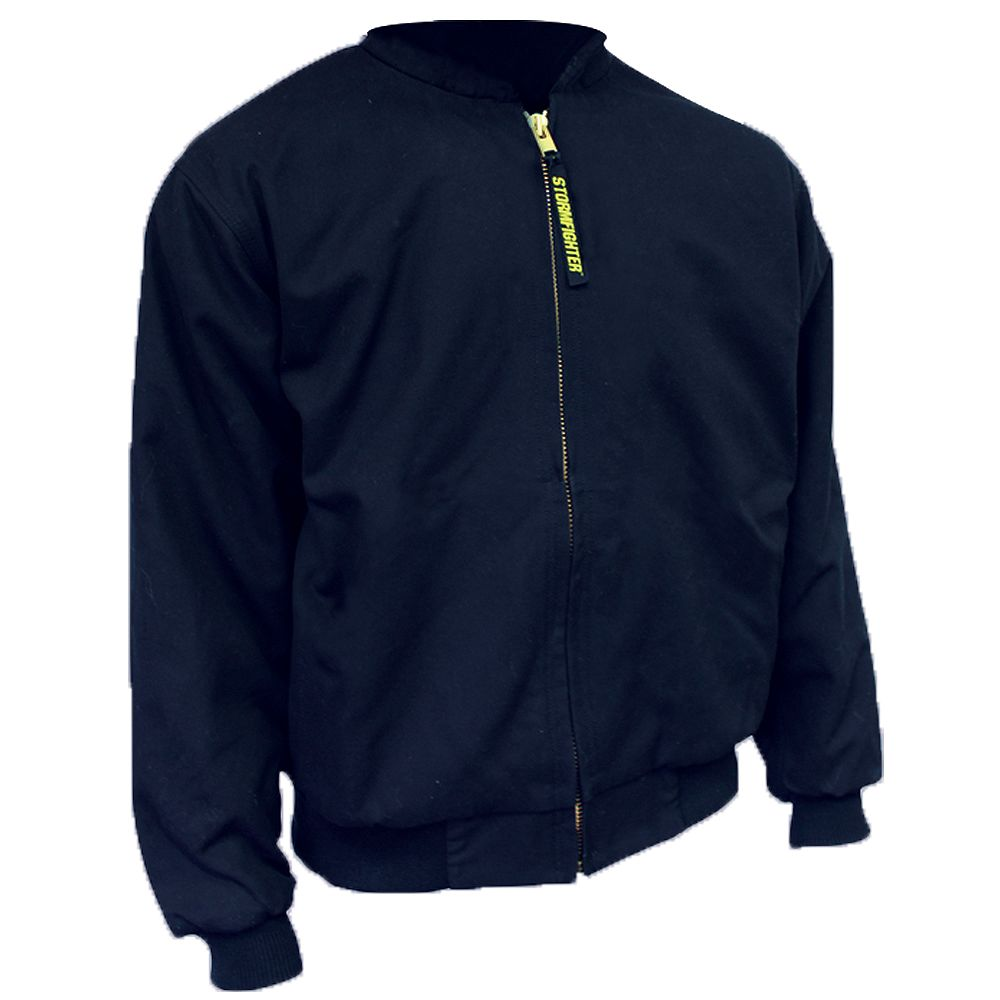 Storm Fighter Insulated Cotton/Canvas Bomber Size Large