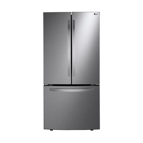 33-inch 25 cu. ft. French Door Refrigerator in Platinum Silver - ENERGY STAR®