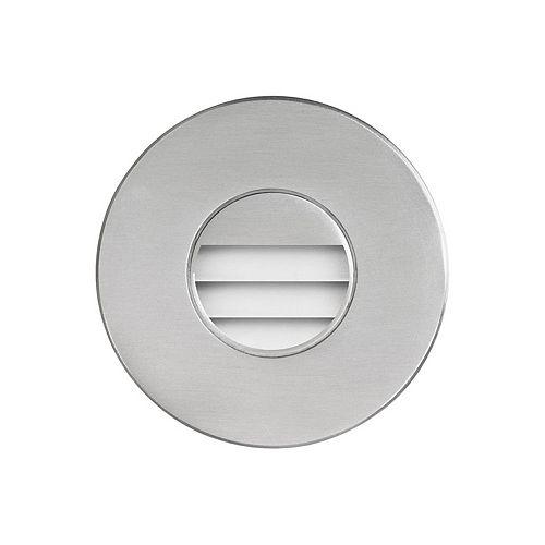 "Dainolite LED 3.46"" Indoor/Outdoor Brushed Aluminum Step/Wall Light"
