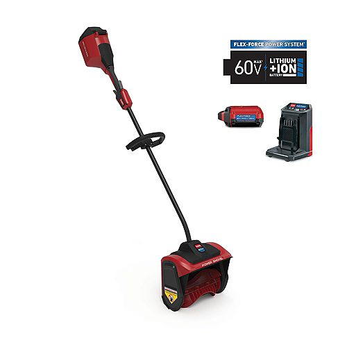 12-inch 60V Battery Cordless Electric Snow Shovel with 2.5 Ah Battery + Charger