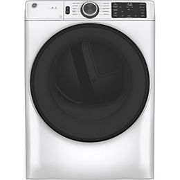 7.8 cu. ft. Capacity Front Load Gas Dryer with Built-In Wifi - White