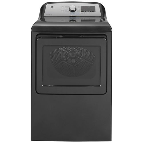 7.4 Cu. Ft. Capacity Gas Dryer with Built-In Wifi Diamond Grey