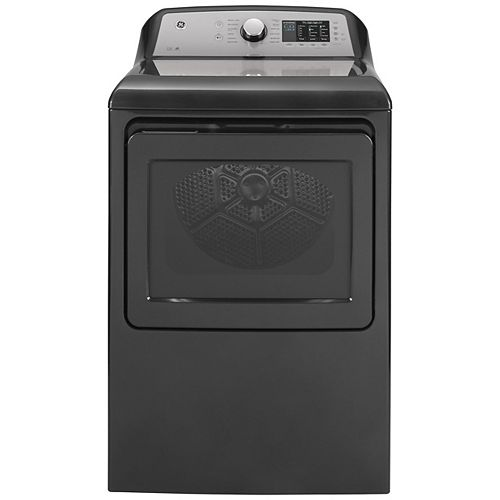7.4 Cu. Ft. Capacity Electric Dryer with Sanitize Cycle - Diamond Grey