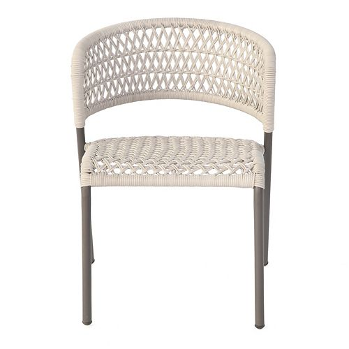 Stacking Hand Woven All-Weather Wicker Chair