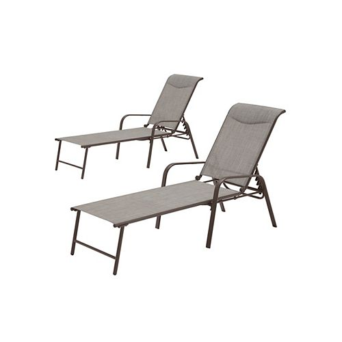 Mix & Match Riverbed Sling Patio Chaise (2-Pack)