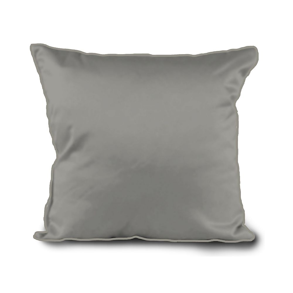 STYLEWELL 20-inch Outdoor Throw Pillow in Flint Grey (2-Pack)