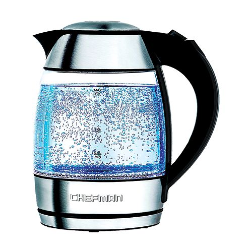 1.8L Electric Kettle with Tea Infuser