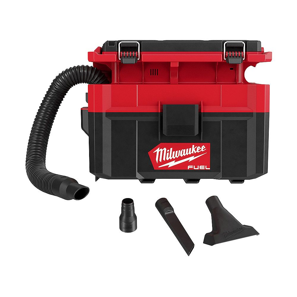 Milwaukee Tool PACKOUT CARBURANT M18 18V sans fil Lithium-Ion 2,5 Gal. Aspirateur humide/sec (pour outils seulement)